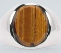 Ring Oval aus Sterlingsilber