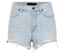Jeans Shorts aus Baumwolle