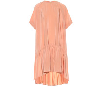 Kleid aus Seiden-Crêpe