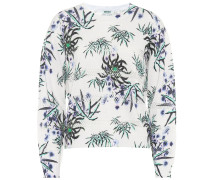 Bedrucktes Sweatshirt aus Jersey