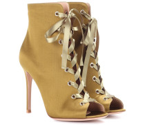 Ankle Boots Marie aus Satin