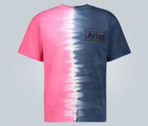 Batik-T-Shirt Half and Half
