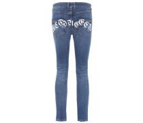 Alexander McQueen Skinny Jeans aus Stretch-Baumwolle