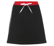 Minirock aus Stretch-Baumwolle