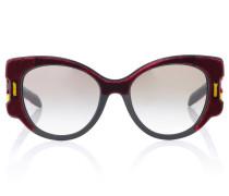 Sonnenbrille mit Verzierung