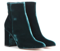 Exklusiv bei Mytheresa – Ankle Boots Rolling 85 aus Samt