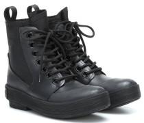 Ankle Boots mit Elastikeinsatz