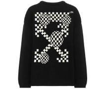 Pullover aus einem Baumwollgemisch