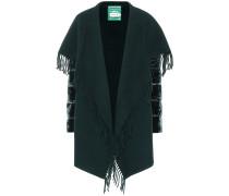 Jacke aus Wolle mit Samt