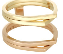 Exklusiv bei Mytheresa – Ring Antifer aus 18kt Rosé- und Gelbgold