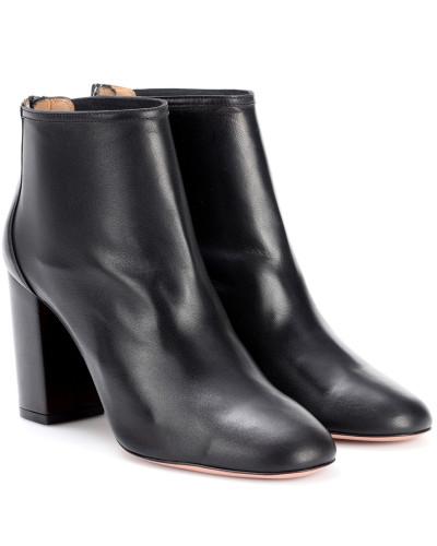 Aquazzura Damen Ankle Boots Downtown 85 aus Leder Outlet Großer Rabatt Sammlungen Online-Verkauf wMfysUu