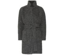 Mantel Fenn mit Wollanteil