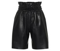 Shorts Amata aus Leder