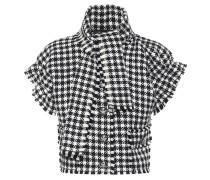 Karierte Jacke aus Wolle