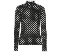 Pullover mit Polka-Dots