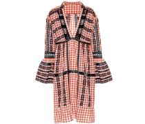 Besticktes Kleid aus Baumwolle