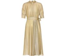 Kleid aus Lamé-Samt