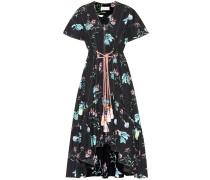 Asymmetrisches Kleid aus Baumwolle