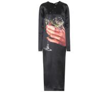 Kleid Champagne aus Satin