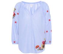 Bestickte Bluse Arabelle aus Baumwolle