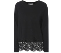 Pullover Effortless Emotion mit Spitze