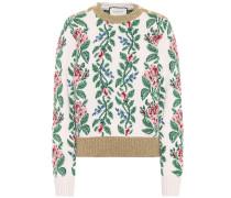 Pullover aus Wolljacquard