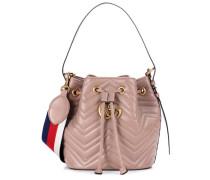 Bucket-Bag GG Marmont aus Leder