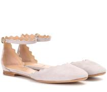 Ballerinas Lauren aus Veloursleder