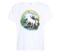 T-Shirt The Classic Unicorn aus Baumwolle