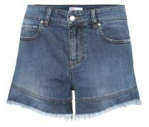 High-Rise Shorts aus Denim