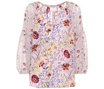 Bedruckte Bluse Kandee