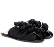 Slippers Capri Bow aus Satin