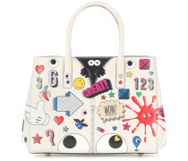 Tasche Ebury Small II All Over Wink aus Leder