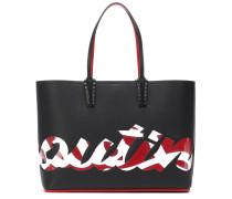 Shopper Cabata Logo aus Leder