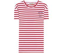 Gestreiftes T-Shirt aus Baumwolle