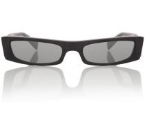 X Alain Mikli eckige Sonnenbrille