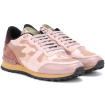 Sneakers Camouflage aus Leder