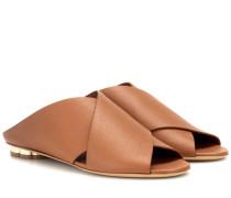 Sandalen Lasa 10 aus Leder