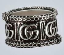 Ring GG Marmont aus Sterlingsilber