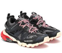Sneakers Track aus Nylon und Mesh