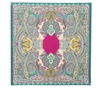 Bedruckter Schal aus Seide