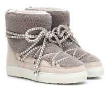 Ankle Boots Curly aus Veloursleder