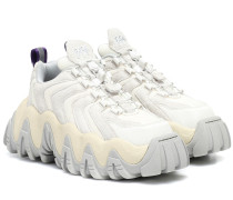 Sneakers Halo mit Veloursleder