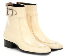 Ankle Boots Miles aus Lackleder