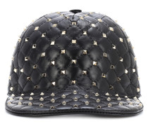 Baseballcap Rockstud Spike aus Leder