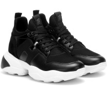 Sneakers Interaction H487 mit Leder