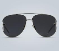 Aviator-Sonnenbrille mit Logo