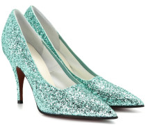Pumps Dorothy aus Glitter-Material