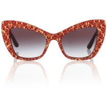 Verzierte Sonnenbrille Devotion