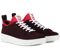 Sneakers K-City aus Veloursleder